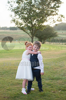 Surrey Wedding Photographer- Farleigh Golf Club cute kids at wedding