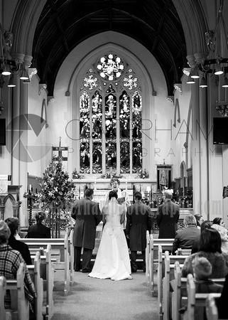St Pauls Church wedding photography