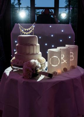 Surrey Wedding Photographer- Nutfield Priory- wedding cake