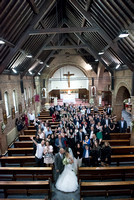 Wedding photography St Gertrude's Church South Croydon Weddings