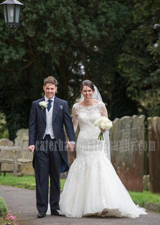 st bartholomew's church wedding otford-Wedding ceremony - bride & groom