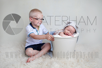New Born Photographer-  Surrey photographer - beautiful baby and boy