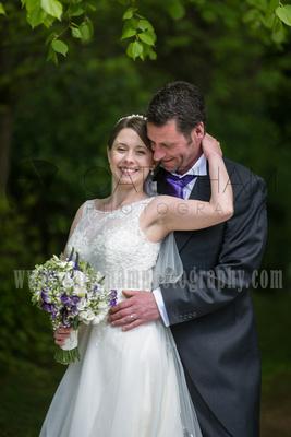 Surrey wedding photographer Hartsfield Manor   Wedding bride and groom portrait
