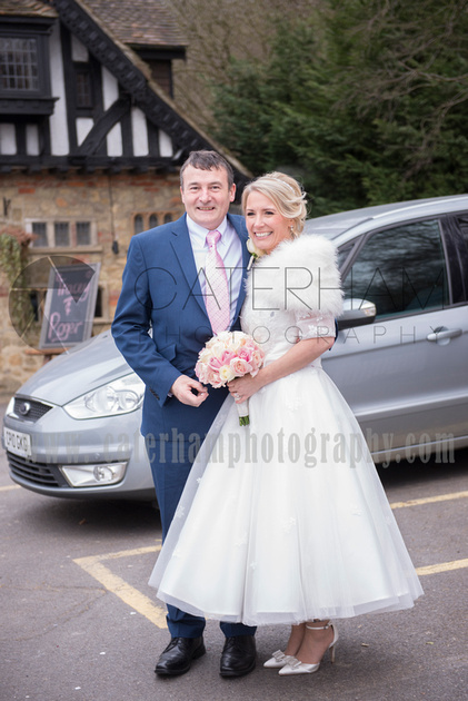 The new Mr and Mrs  by Surrey Wedding Photographer - beautiful wedding photos