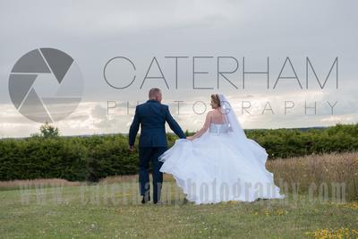 Cain Manor Weddings, Surrey Wedding Photography, Wedding at Cain Manor, Bride Groom sunset