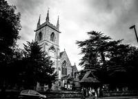 st mary's church ewell wedding (0)
