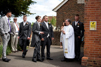 Surrey wedding photographer Bletchingley Church weddings