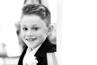 Surrey wedding photographer - reigate hill golf club - page boy