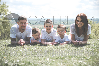 Family Lifestyle Photographer-  Surrey photographer - adorable family portrait