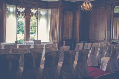 Surrey Wedding Photographer- Nutfield Priory-  Ceremony Room