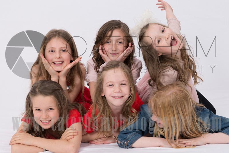 Surrey portrait photographer-Kids party Photoshoot funny