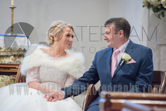 Just the two of us A face in the crowd Surrey Wedding Photographer - beautiful wedding photo