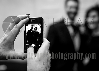 surrey wedding photographer - wedding mercure box hill burford bridge