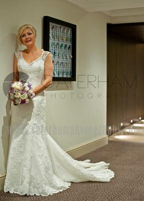 Wedding photographer in Surrey Mercure Box Hill Burford Bridge Hotel in Dorking