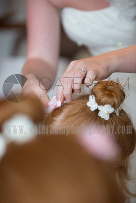 Surrey wedding Photographer- Farleigh Golf Course- stunning Wedding hairstyle