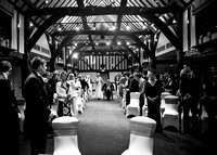Surrey wedding photographer-mercure box hillburford- ceremony