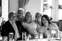 surrey wedding photographer- leatherhead registry office- wedding guests