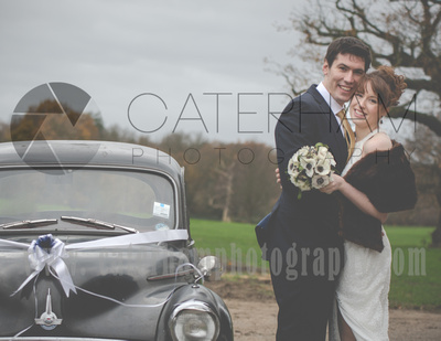 surrey wedding photographer- merton register office morden park house-  bride and groom